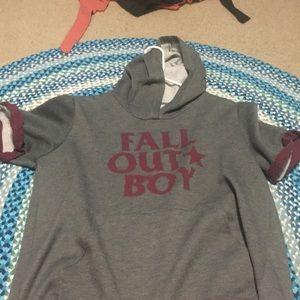 Fall Out Boy Short-Sleeve Sweatshirt